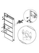 SECTIONAL GATE RELEASE LOCK N